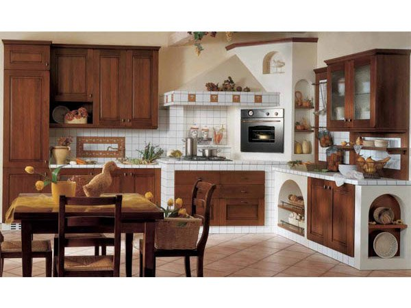Cucine in muratura treviso mobili cucine veneto carretta arredamenti - Cucine a muratura ...