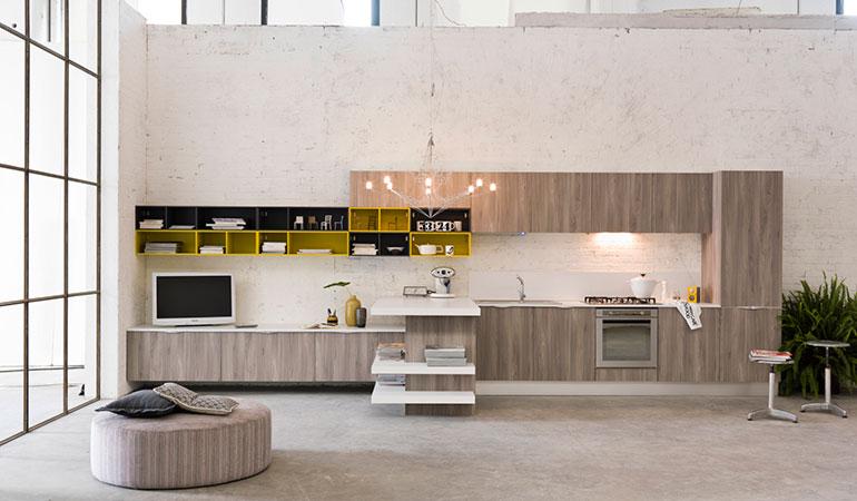 Cucine moderne treviso veneto vendita cucine carretta arredamenti - Cucine in muratura economiche ...