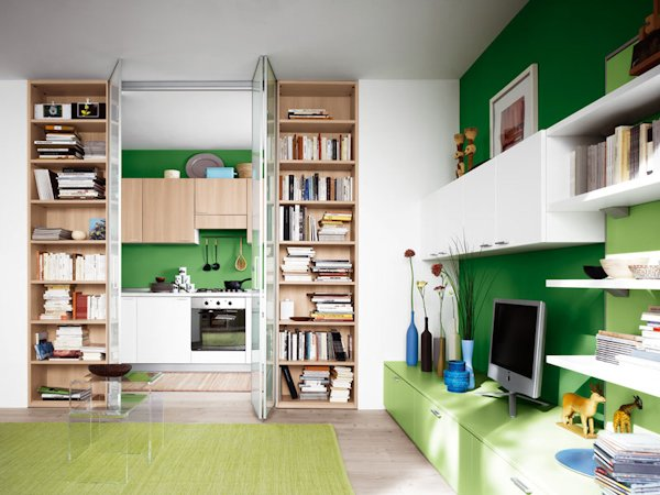 Pin cucine modulari offerte classiche roma genuardis portal on pinterest - Cucine per miniappartamenti ...