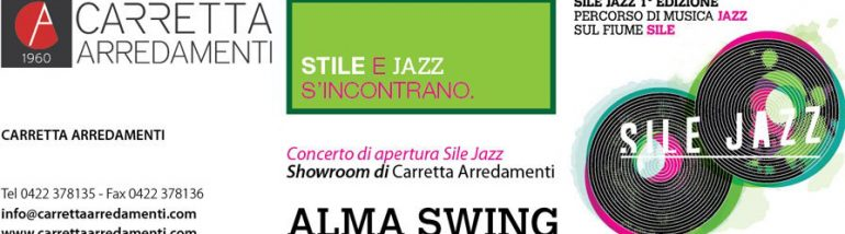 Concerto apertura Sile Jazz nel nostro showroom