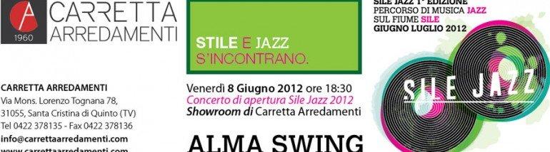 Sile e Jazz nello showroom di Carretta Arredamenti