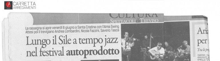 Sile Jazz allo showroom Carretta Arredamenti